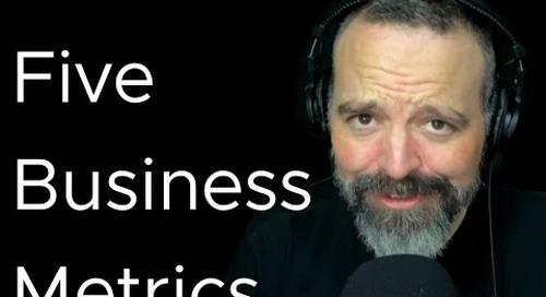 Tanzu Talk: Five Business Metrics to Start Tracking
