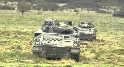 British Army's 3rd (UK) Division: Combined Arms Manoeuvre Demonstration