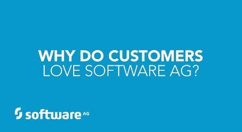 Customers love Software AG -- see why