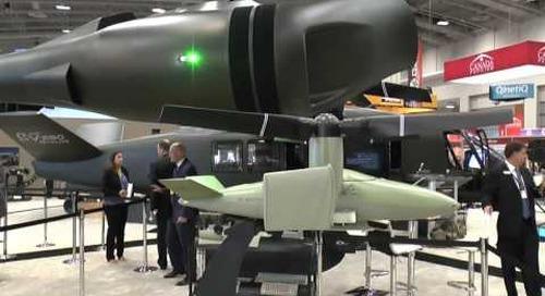 AUSA 2016: V-247 Vigilant Unmanned Aerial System