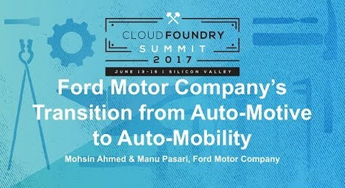 Ford Motor Company's Transition from Auto-Motive to Auto-Mobility