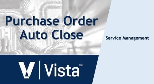 Purchase Order Auto Close
