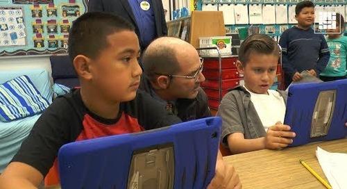 Elementary Ed Council Visits Juarez Academy