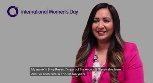 International Women's Day series- Briceth Reyes #BalanceforBetter