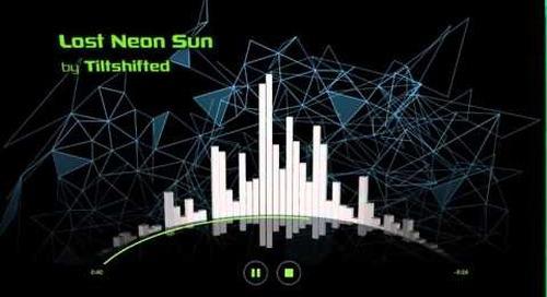 Qt 3D 2.0 Audio Visualizer Example