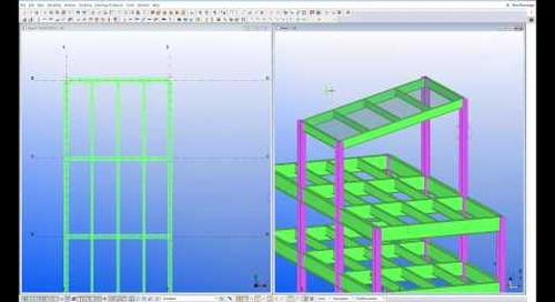 Steel Framing with Tekla Structures