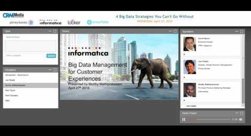 4 Big-Data Strategies You Can't Do Without