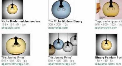 Binary Modern Pendant Light - Search Story