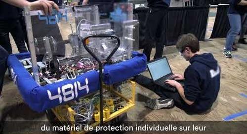 Robots et ingéniosité : Mettre les STIM à l'avant-plan