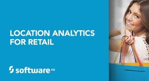 Software AG's Location Analytics for Retail