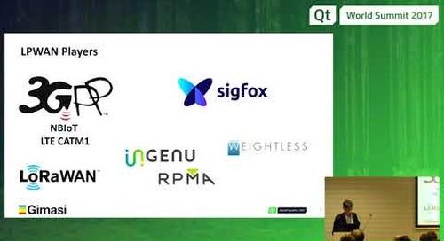 LPWAN will make the IoT Revolution Real, Massimo Santoli, Gimasi at QtWS17