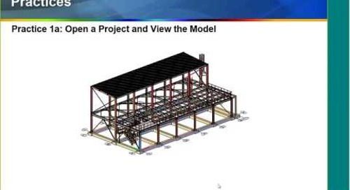 ASCENT Webcast: From Model to Drawings Using Advance Steel