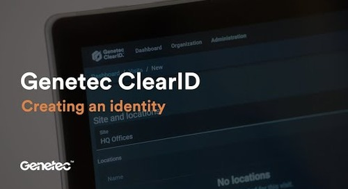How to create an identity in ClearID