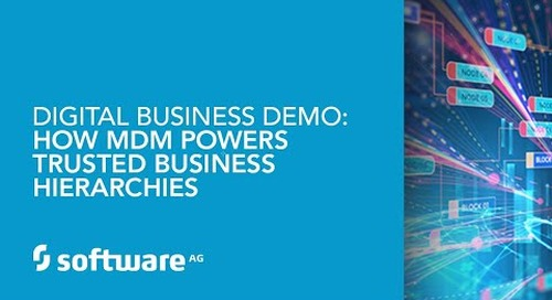 Demo: How MDM Powers Trusted Business Hierarchies