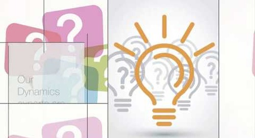 Q&A Series: How Many Subscriber Code Units Should You Create When Using Events in Dynamics NAV