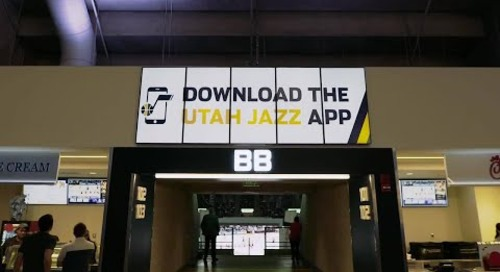[Case Study Video] The Utah Jazz Creates the Ultimate Fan Experience with Digital Signage