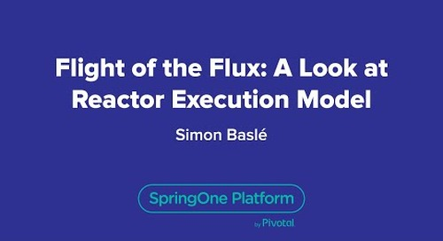 Flight of the Flux: A Look at Reactor Execution Model