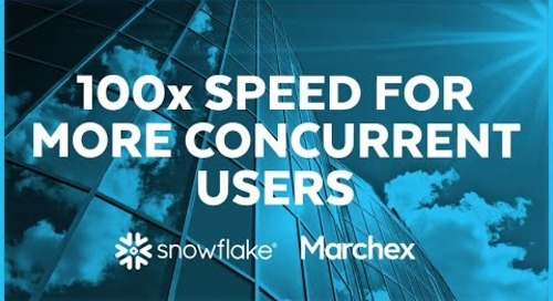 Marchex - 100X Speed for More Concurrent Users
