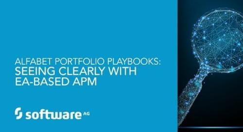Alfabet Portfolio Playbook:  Seeing Clearly with EA Based APM
