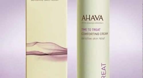 AHAVA Comforting Cream - sensitive skin relief