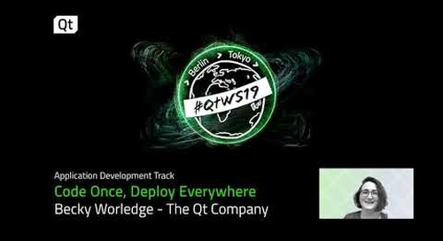 Code Once Deploy Everywhere: How Qt is ideal for cross-platform development