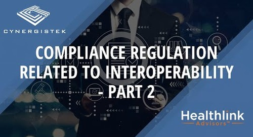 Compliance Regulation Related to Information Blocking - Part 1
