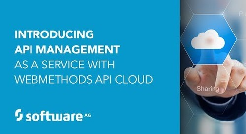 Demo: Introducing API Management as a Service with webMethods API Cloud
