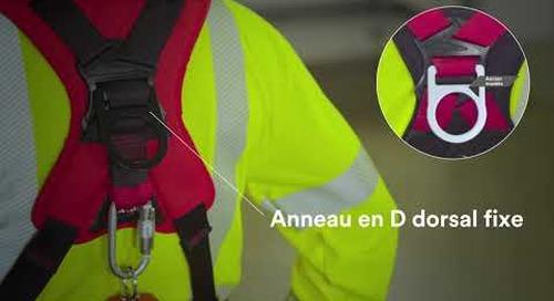 Sécurité et confort sans compromis, les Harnais de sécurité complets Protecta® 3MMC