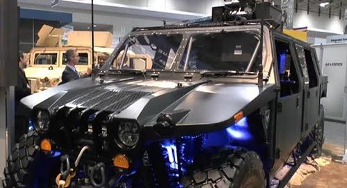 AUSA 2015: Northrop Grumman release their new Hellhound vehicle