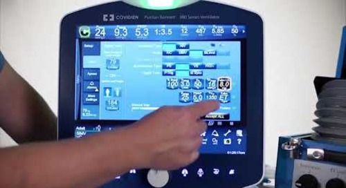 Puritan Bennett 980 Ventilator - Clinical - Tube Compensation Software