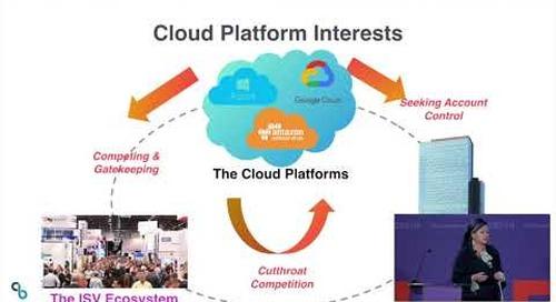 ESCAPE Conference 2019: ISVs in a Multi-Cloud World -- Christina Noren, CPO Emeritus, CloudBees
