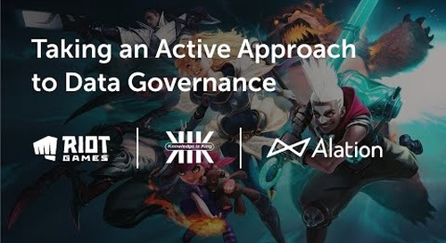 Taking an Active Approach to Data Governance