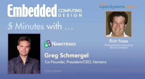 Five Minutes With… Greg Schmergel, Co-Founder, President/CEO, Nantero