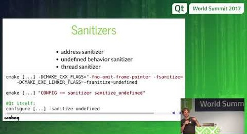 QtWS17 - Improve your productivity with Clang tools. Olivier Goffart, Woboq GmbH