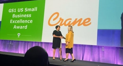 Crane USA Receives 2018 GS1 Small Business Excellence Award