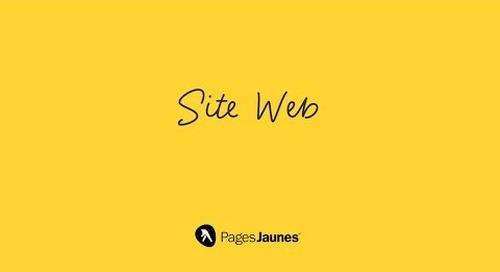 Site Web PJ: Créez votre vitrine numérique