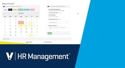 Viewpoint HR Management Overview Demo