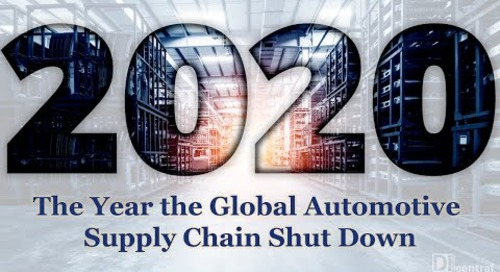 2020: The Year the Global Automotive Supply Chain Shut Down