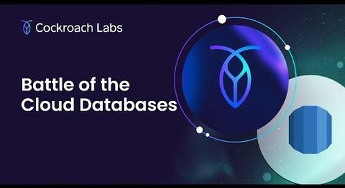 Cloud Database Architecture | CockroachDB vs. Amazon Aurora | Aurora Database Architecture