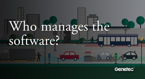 Who manages the software?