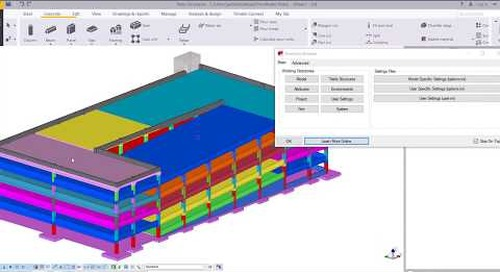 Firm Folder Creation in Tekla Structures for Concrete - Part 1