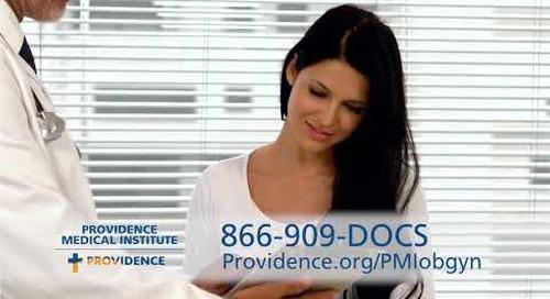 Providence PMI OB ad