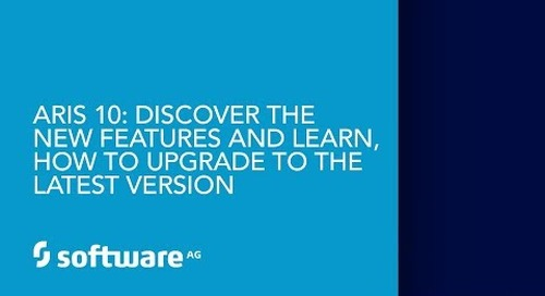 ARIS 10: Discover the new features and learn, how to upgrade to the latest version