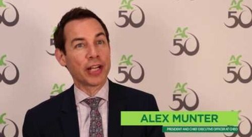 Algonquin College 50th Anniversary - Alex Munter
