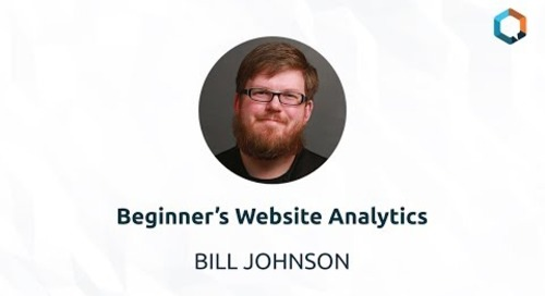 Beginner's Website Analytics