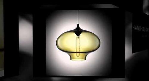 Niche Modern Stargazer Handmade Glass Pendant Lighting