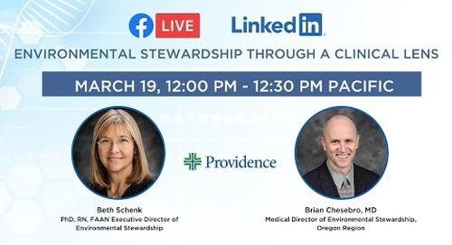 Environmental Stewardship through a Clinical Lens