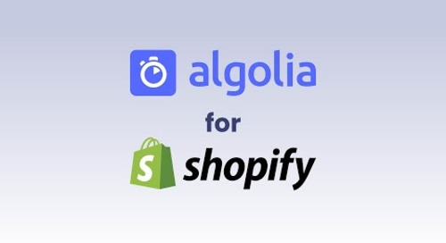 Algolia for Shopify
