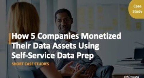 eBook: How 5 Companies Monetized Their Data Assets Using Self-Service Data Prep (Paxata)