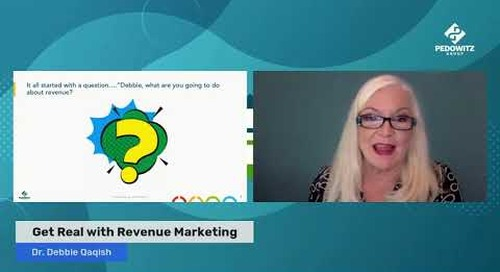 Get Real with Revenue Marketing - The 4 stages of Revenue Marketing journey